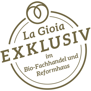 Stilles Mineralwasser La Gioia Exklusiv Badge